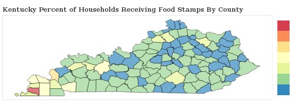 Food Stamp Recipients In Kentucky